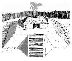 Ancient People - Village - Platform Mound