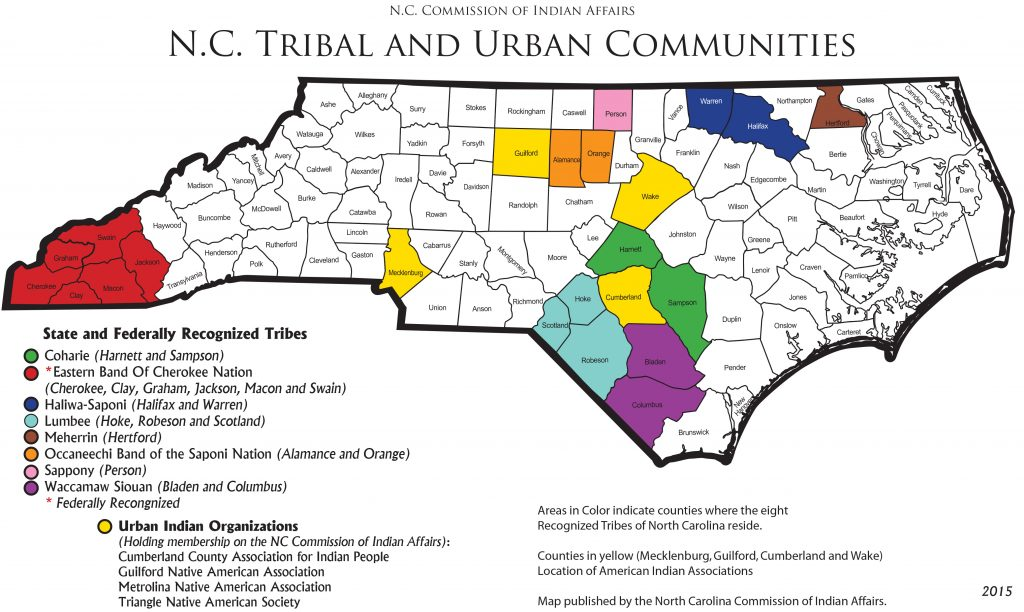 NC tribal communities