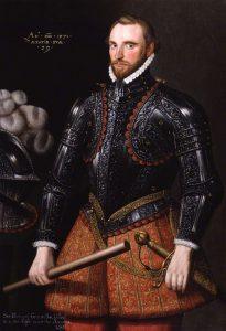 , after Unknown artist, oil on canvas, 17th century (1571) British NPG 1612