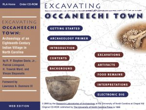 ExcavatingOccaneechiTown