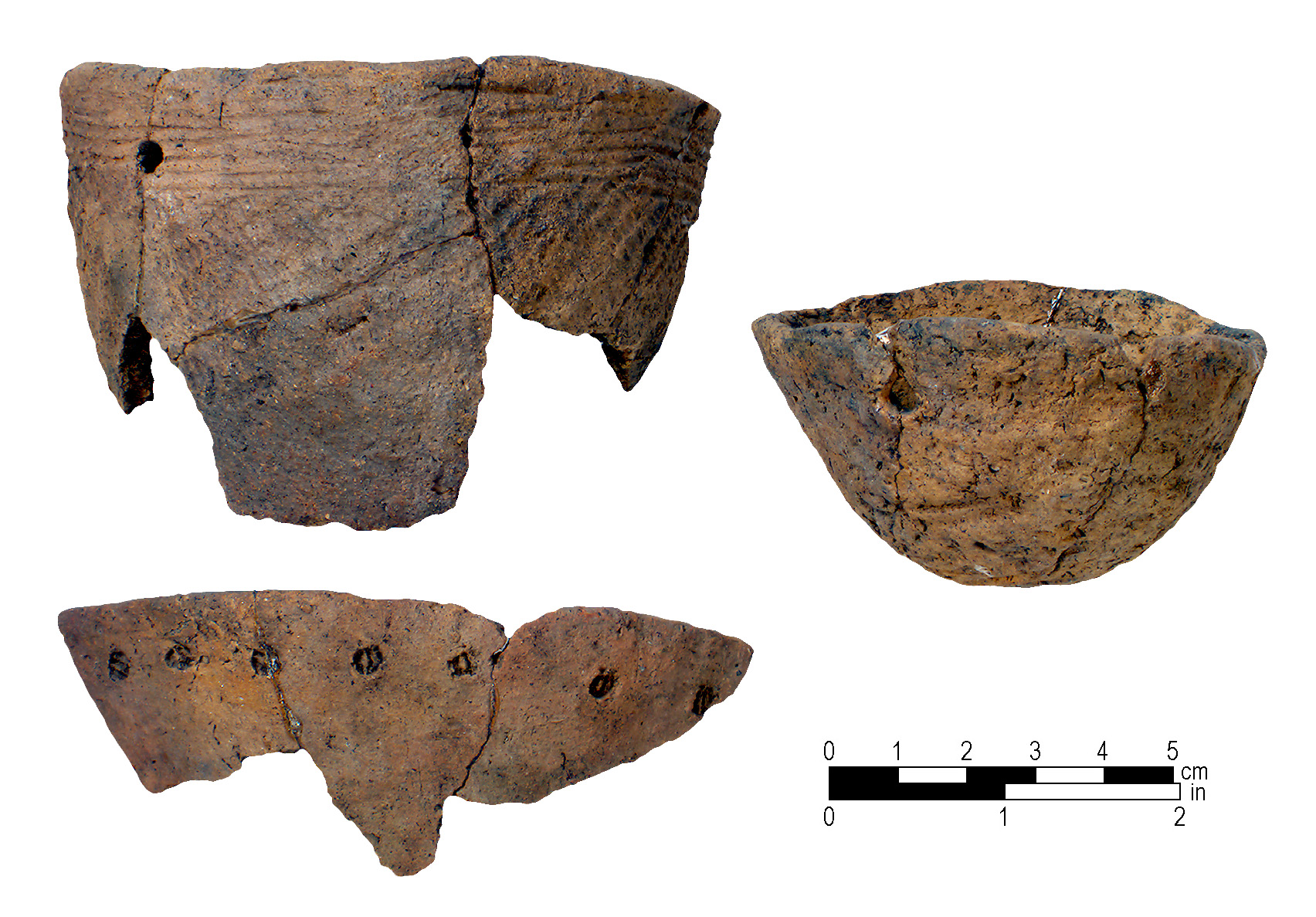 Pottery from the McLean Mound.